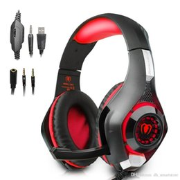 $enCountryForm.capitalKeyWord Australia - New EACH GS400 Gaming Headset Gamer casque 3.5mm Stereo Headphones with Microphone for smartphone Laptop PS4 Gamepad New Xbox One GM-1
