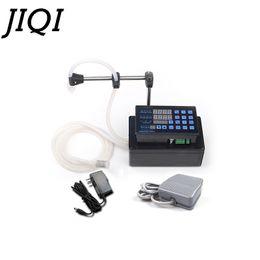 JIQI Machine de remplissage de liquides électriques MINI remplisseur d'eau embouteillée Pompe numérique Pour eau de parfum lait eau d'olive 110V 220V