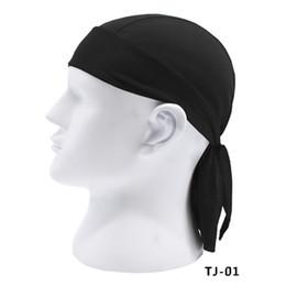 Workout headbands online shopping - Men Fashion Quick Dry Beanie Snood Hip Hop Caps Pirate Scarf Hat Turban Workout Cycling Sports Magic Headband Muffler Bandana