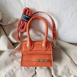 Toptan satış Bayanlar Deri Lüks Çanta 2020 Yeni Timsah Desen Çanta Mini Omuz Çantası Tasarımcı Cüzdan Ayaklı