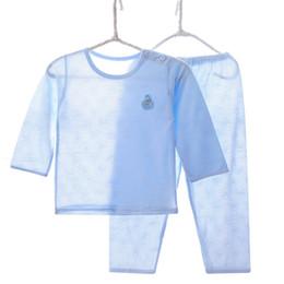 $enCountryForm.capitalKeyWord Australia - Brand Pajama Infant Sets Summer Cool Bamboo Fiber Thin Children's Sleepwear Pyjamas Kids For Boy Girl Baby Pijama 2 3 5 7 9 Year J190522