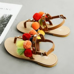 Boho Strap Australia - Bohemian Women Flat Sandals Summer Gladiator Roman Sandal Buckle Strap Boho Sandalias Mujer Colorful Female Beach Shoes