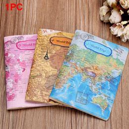 $enCountryForm.capitalKeyWord UK - Hot Sale World Map Travel Passport Cover Pvc Holder Travel Passport Cover Case Brand Passport Holder Documents Folder Bag