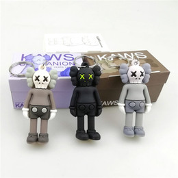$enCountryForm.capitalKeyWord Australia - KAWS BFF Keychain Trend doll Brian Street Art PVC Action Figure Limited Version Collection Model Toy Gift Straps Charms DHL