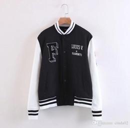 Großhandel Outdoor Sportswear Jacken Für Männer Herbst Frühling Neue Druck Pullover Freizeitkleidung Baseball Outwear Sportjacke
