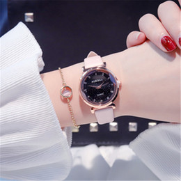 Cheap rhinestone watCh online shopping - cheap vewly arrived designer leather strap women rhinestone watches ladies dress quartz diamond lady wristwatches