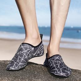 Beach Shoes 47 Australia - TULUO Size 35-47 Summer Men Women Sneakers Swimming Water Shoes Seaside Beach Yoga Upstream Barefoot Aqua Soft Skin Sock Shoes