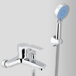supply hose Australia - 6mpa Wall-Mounted Bathroom Bathing Shower Faucet System Mixer Showering Sprayer Supply Hose Set Shower Bracket Accessory