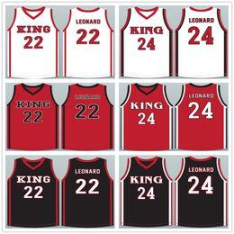 $enCountryForm.capitalKeyWord Australia - Kawhi Leonard #22 #24 Martin Luther King High School Wolves White Red Black Basketball Jersey Men's Stitched Custom Number Name Jerseys