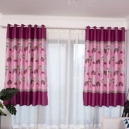 luxury blinds curtains 2019 - Living Room The Bedroom Blinds Blackout Curtains For Living Room Modern Lotus Leaf Printing Luxury Curtain Drape Panel d