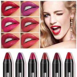 $enCountryForm.capitalKeyWord Australia - Lip Stick Matte For Lips Makeup Black Tube Waterproof Matte Lipstick Long Lasting Lipsticks Women Cosmetics Nude Tint Lip Gloss