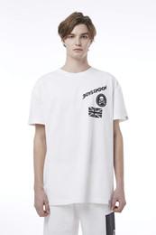 Boy London White Shirt Australia - BOY LONDON Summer fashion casual t-shirt Artwork Series Boxy Tshirt BH2TS137AWH - White