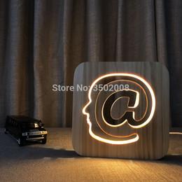 $enCountryForm.capitalKeyWord Australia - Wooden LED high heels hollow out design night light warm USB power desk lamp as creative gift or home Children Kids Birthday Christmas Gifts