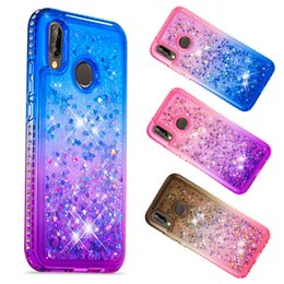 $enCountryForm.capitalKeyWord Australia - for iphone xr xs max xs Glitter Bling Luxury Diamond Quicksand Liquid TPU Clear Phone Case For iphone 6 7 8 plus