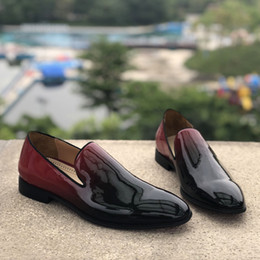 $enCountryForm.capitalKeyWord Australia - 2019 Hot Sale New Party Dress Wedding Slip On Loafers Shoes For men oxford dress shoes