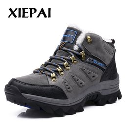 $enCountryForm.capitalKeyWord NZ - XIEPAI Winter With Fur Snow Boots For Men Sneakers Male Shoes Adult Casual Quality Waterproof Unisex Rubber Ankle Warm Boots