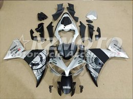 $enCountryForm.capitalKeyWord Australia - New ABS Injection Mold motorcycle Fairings Kits Fit For YAMAHA YZF-R1-1000 2012-2014 12 13 14 Fairing bodywork set custom Matte black silver