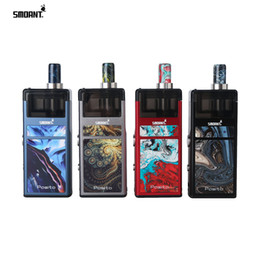 $enCountryForm.capitalKeyWord Australia - Smoant Pasito Pod System Kit 1100mAh 3ml Capacity 5 Level Alterable Voltages With VV Button The Ant Constant-output Chip 100% Original