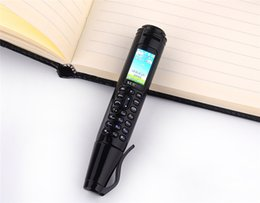 "bluetooth pens UK - High quality SERVO K07 Recording Pen Mini Cellphone 0.96"" Tiny Screen GSM Dual SIM Camera Flashlight Bluetooth Dialer Mobile Phones"