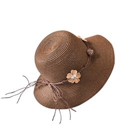 d5cca8832a501 Fashion 100% Handwork Women Summer Straw Sun Hat Girl Boho Beach Pendant Hat  Sunhat Trilby Girl Blue Pink Cap