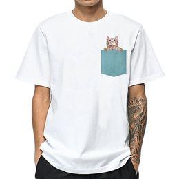 Kitten Shirts Australia - good quality Kitten T Shirt Men Cotton High Quality Fashion Funny T-shirt Mens Summer Casual Male T Shirt