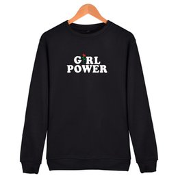 Power Clothes NZ - Fashion Power Of The Girl Hoodies Men Black Cotton Hip Hop High Quality Sweatshirt Men In Streetwear Style Clothes