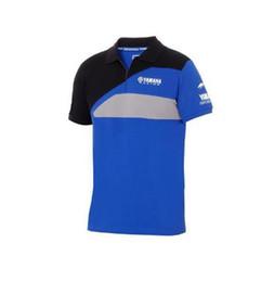 Woman Fans Australia - New 2019 MOTO GP Fans Motorcycle Mens Tee Top for YAMAHA Paddock motocross Blue Men's Race Polo Shirt Racing Clothing T-shirt
