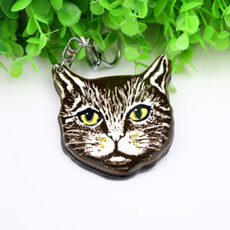 $enCountryForm.capitalKeyWord NZ - cartoon cat compact mirror keychain custome animal styles acrylic keyholders fashion accessoreis pocket keycharms kering for bags