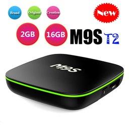 Flash google online shopping - Original M9S T2 Android ott smart TV Box Allwinner H3 GB GB GB GB eMMC Flash k Streaming Media Player wifi IPTV BOX better HK1 S905W