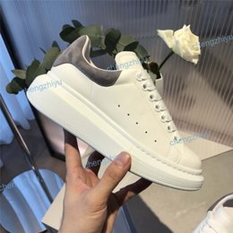 Casual fall shoes online shopping - New Season Designer Shoe Fashion Luxury Women Shoes Men s Leather Lace Up Platform Oversized Sole Sneakers White Black Casual Shoes With Box