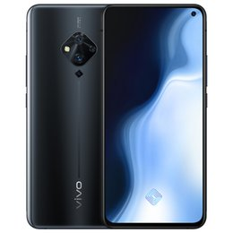 "vivo mobile phones android UK - Original Vivo S5 4G LTE Cell Phone 8GB RAM 128GB ROM Snapdragon 712 Octa Core Android 6.44"" Full Screen 48.0MP Fingerprint ID Mobile Phone"