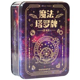 $enCountryForm.capitalKeyWord UK - 2019 new magic tarot cards ,love tarot factory made high quality tarot cards game, Chinese board game