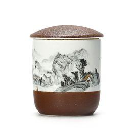 Tea Box Storage Australia - Small Jar For Tea Storage Porcelain Tea Cans Tank Portable Sealed Sugar Medicine Pot Tea Storage Box For Kitchen Canister Creative Gifts