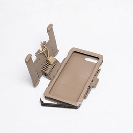 $enCountryForm.capitalKeyWord NZ - New Arrival Tactical Molle Plus Mobile Pouch Outdoor Hunting Equipment Paintball Shell Phone Case Iphone 7 8 Plus