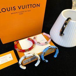 Platinum fish bracelet online shopping - Designer Bracelet Personality Color Men s and Women s Accessories Luxury Fashion Accessories Blue Red Black Pink White Metal Bracelet