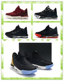 sports king 2019 - High Quality 16 Low Soundtrack Designer Sneakers Men Basketball Shoes 16s King Men Outdoors Athletic Sports Shoes With B