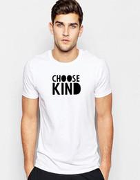Choisissez le genre T-shirt anti-intimidation message positif gentillesse cadeau unisexe Tee T en Solde