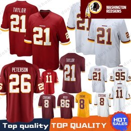 26 Adrian Peterson Washington Redskins Stitched Jersey 21 Sean Taylor 11  Alex Smith 72 Eric Fisher 86 Reed 8 Kirk Cousins 29 Guice 95 Payne 844027dd0