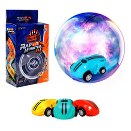 car spinning Australia - Stunt Car Mini Cool Toys Racing Car with Rechargeable Battery and 360 Degree Spinning with Real Taillights for Age 3+ Kids