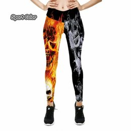 white girls yoga pants sexy 2020 - Europe Popular Sexy Women Leggings Trousers Yoga Fitness Elastic Tights Girls Breathable Colorful 3D Lady Gym Dancing Pa