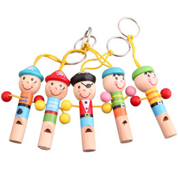 $enCountryForm.capitalKeyWord Australia - 200Pcs Lot Wooden Whistling Educational Child Whistle Wood Child Gift Musical Instrument Party Supplies