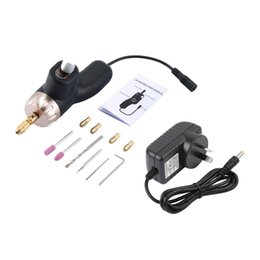 dremel tool grinder Australia - Micro Electric Drill Mill Grinder Kits Variable Speed Rotary Grinding Dremel Tool Machine Engraving Pen