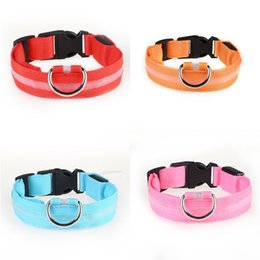 suede rhinestone dog collars Canada - Wholesale Portable Delicate Dog Collars 6 Colors 4 Size Adjustable Suede Leather Dog Collars Cute Pet Rhinestone Pet Led Collar Bh0286 Tq #11