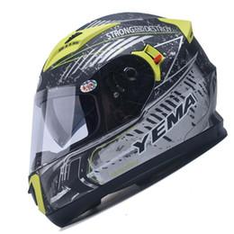 Full Race Helmet NZ - YEMA-830 motorcycle helmets motocross racing helmet off road motorbike full face moto cross helmet ATV Bicycle helmet