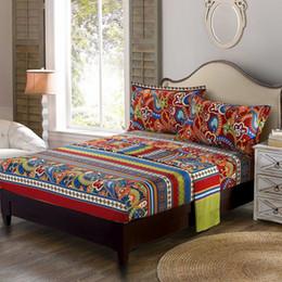 $enCountryForm.capitalKeyWord NZ - WINLIFE Colorful Bohemian Bedding Paisley Design Bedroom Set Stripped Bedding