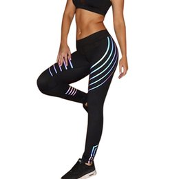 5c8c155ed6b1c Woman Fitness Leggings Light High Elastic Shine Leggins Workout Slim Fit Women  Pants Black Trousers Leggings New Fashion #F