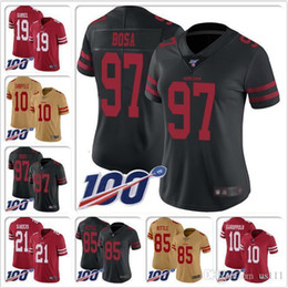 Custom sports jerseys online shopping - Mens Nick Bosa Jersey Joe Montana Steve Young Jerry Rice Ronnie Lott Jalen Hurd Tim Harris custom Cheap football jerseys College sports
