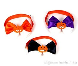$enCountryForm.capitalKeyWord Australia - NEW Halloween Dog Tie Adjustable Pet Grooming Accessories Rabbit Cat Dog Bow Tie Pumpkin Bowtie Pet Dog Puppy Lovely Decoration Pet Product