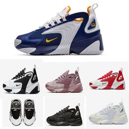 Wholesale M2k Tekno Zoom K Men Outdoor Shoes Race Red Black Sail White Orange Navy Sports Shoes Mens Trainer Size