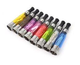 Vapor Battery Ego Australia - 2019 Hotsale CE4 Atomizer eGo Clearomizer 1.6ml vapor tank E Cigarette for e-cig battery 8 colors